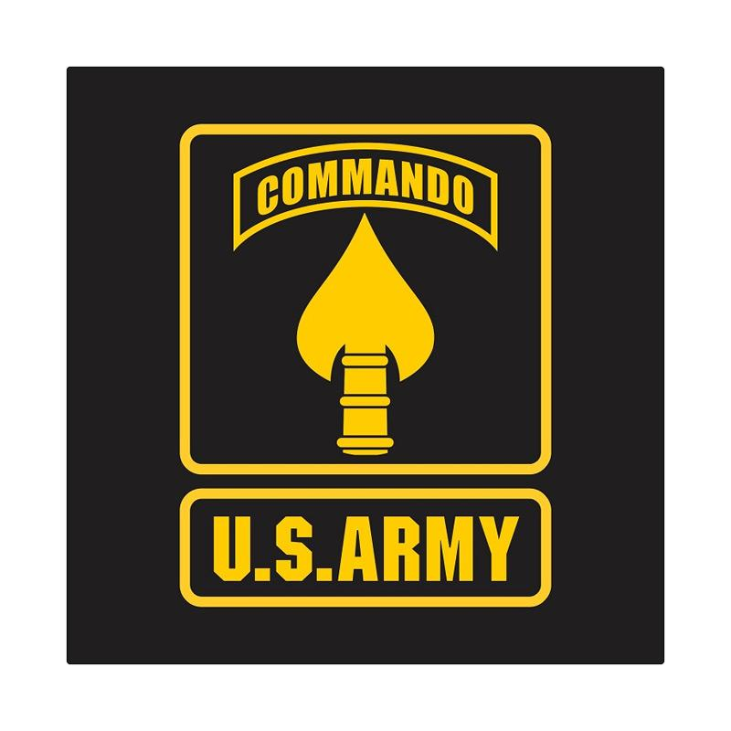 US Army Special Operation Command Cutting Sticker