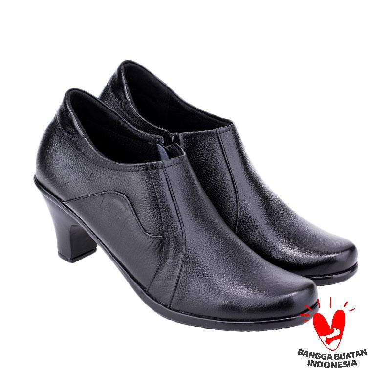 Raindoz Woman Pantofel Elden Sepatu Wanita - Black