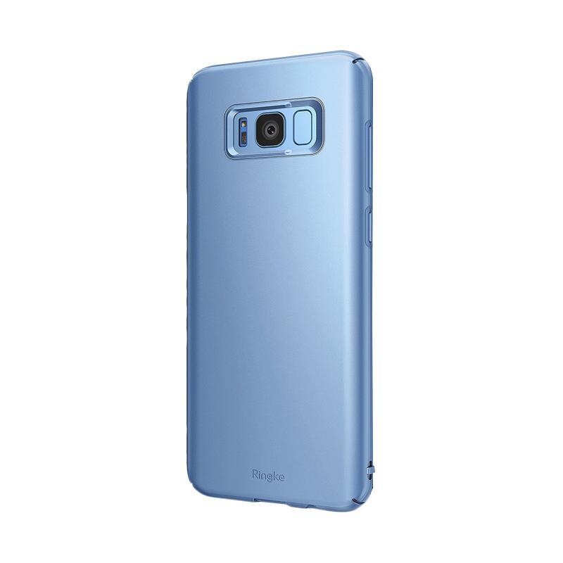 Ringke Slim Casing for Samsung Galaxy S8 - Blue Pearl