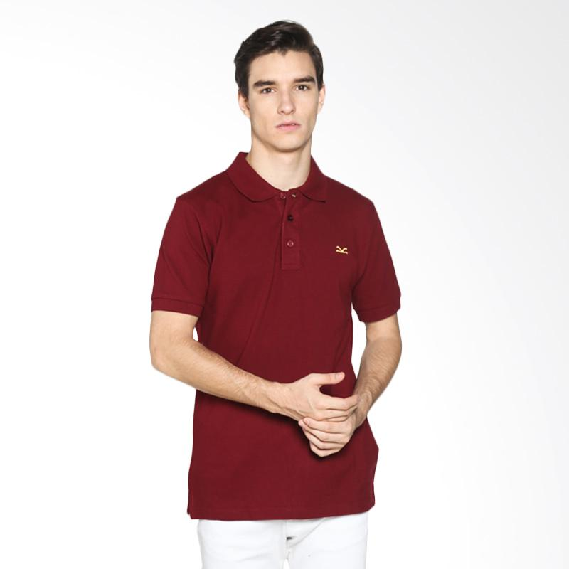 Carvil Men 12.RED.MRN.77/ RED-MRN Polo Shirt Pria - Maroon Extra diskon 7% setiap hari Extra diskon 5% setiap hari Citibank – lebih hemat 10%