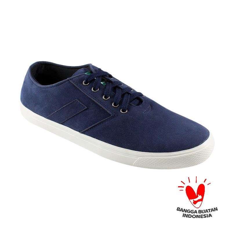 Dane and Dine New Arrow Sneaker Sepatu Pria - Navy