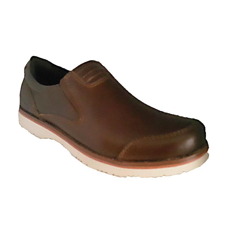 Handymen Formal Loafer CHS 01 Sepatu Pria - Brown