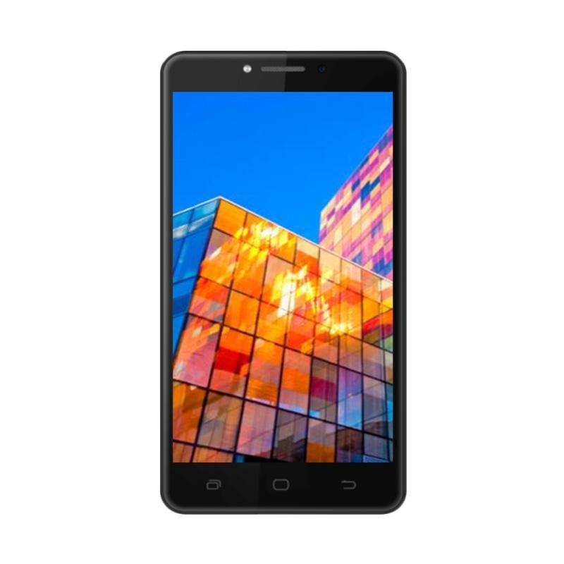 Smartfren Andromax L Smartphone GIS 30GB - Black [16 GB/2 GB RAM]