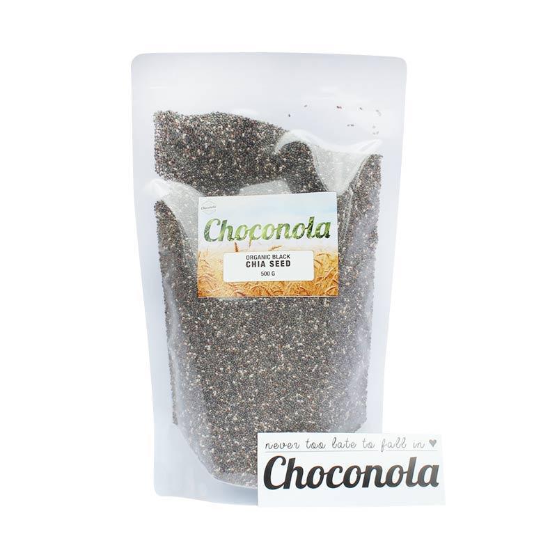 Choconola Organic Black Chia Seed Cereal [500 g]