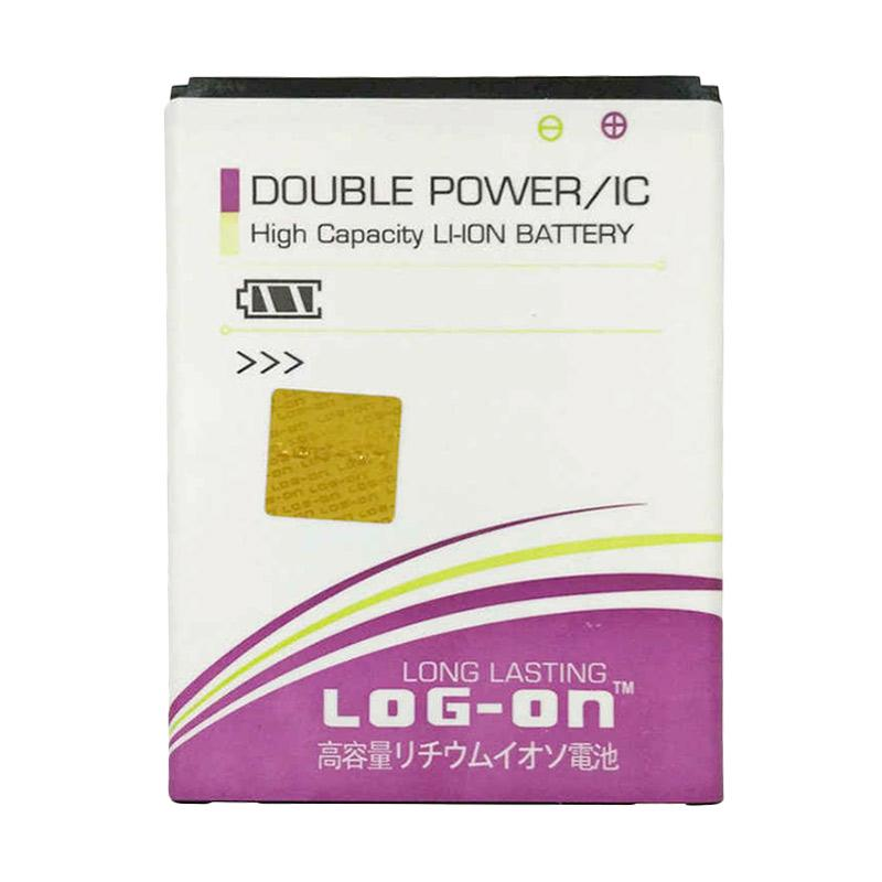 Log On Double Power Battery for Smartfren Andromax QI [3800 mAh]