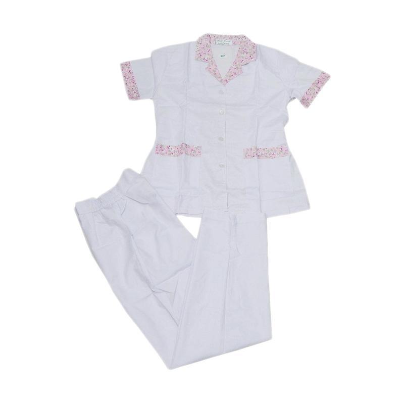 harga Sandrina Baju Suster Panjang Flower Stelan Anak - Pink [Size L] Blibli.com