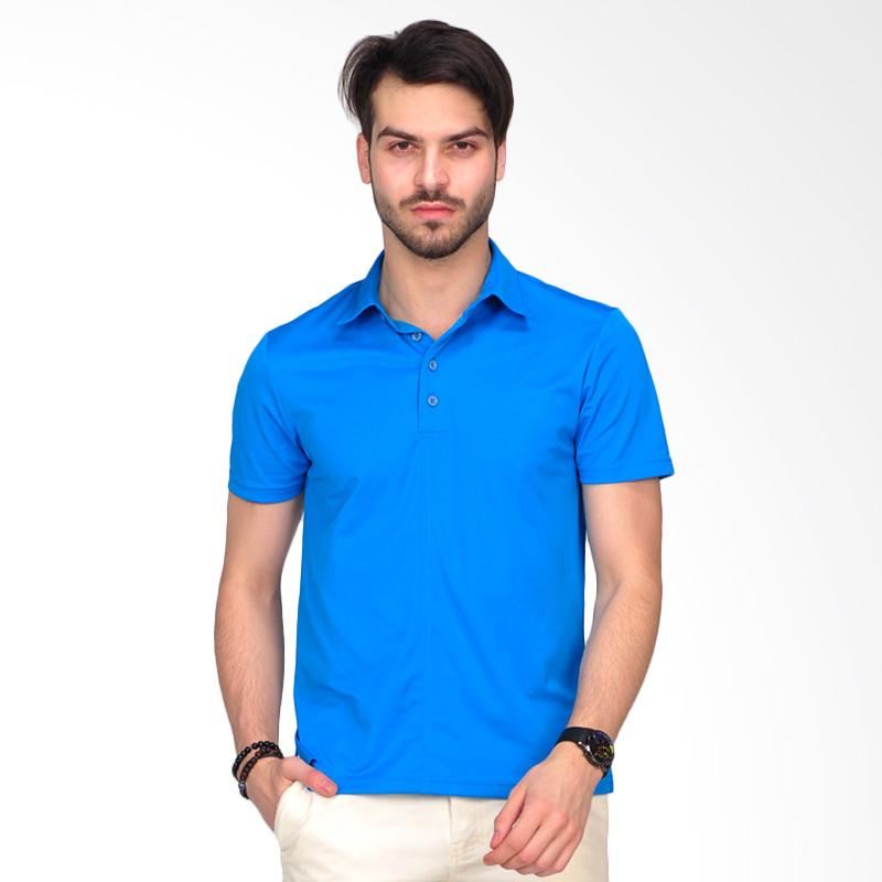 SIMPAPLY's Grimmer Men's Polo-Shirt - Blue Extra diskon 7% setiap hari Extra diskon 5% setiap hari Citibank – lebih hemat 10%