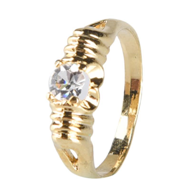 1901 Jewelry Swarovsky Ring 148 CC.148.HR9 Cincin - Putih