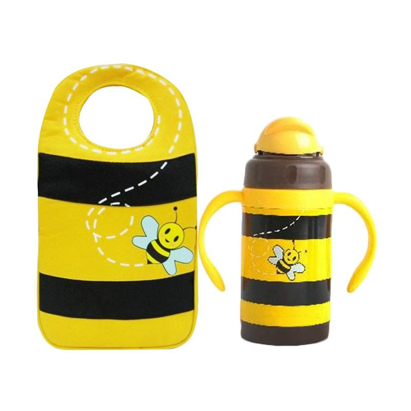 Arvita Bee Lunch Bag + Free Arvita Water Bee Thermos Bottle