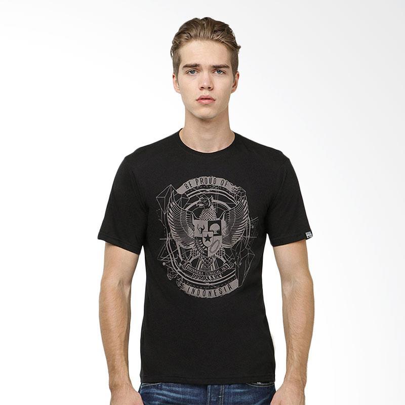 Be Proud of Indonesia Garuda Urban T-shirt - Black Extra diskon 7% setiap hari Extra diskon 5% setiap hari