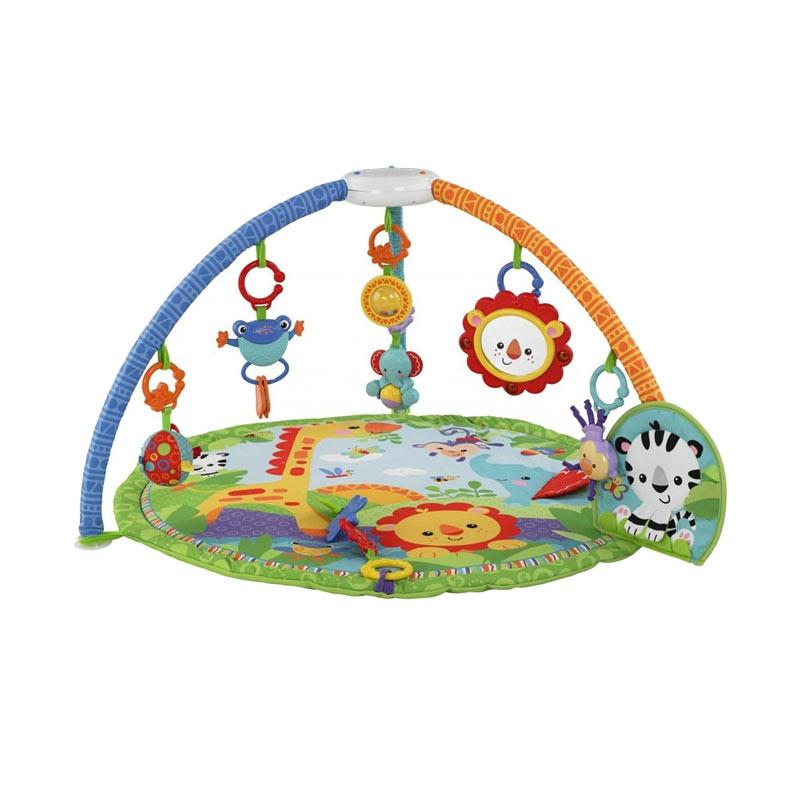 Fisher Price Rainforest Friends Musical Gym Baby Playmat