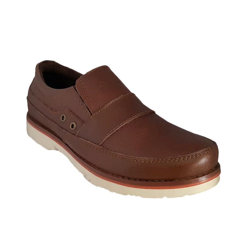 Handymen CHS 03 Formal Casual Genuine Leather - Brown