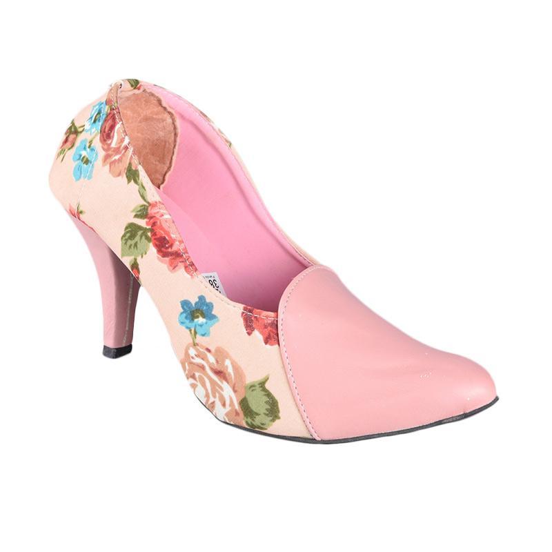Panda Style SN-089 High Heels Sepatu Wanita - Pink