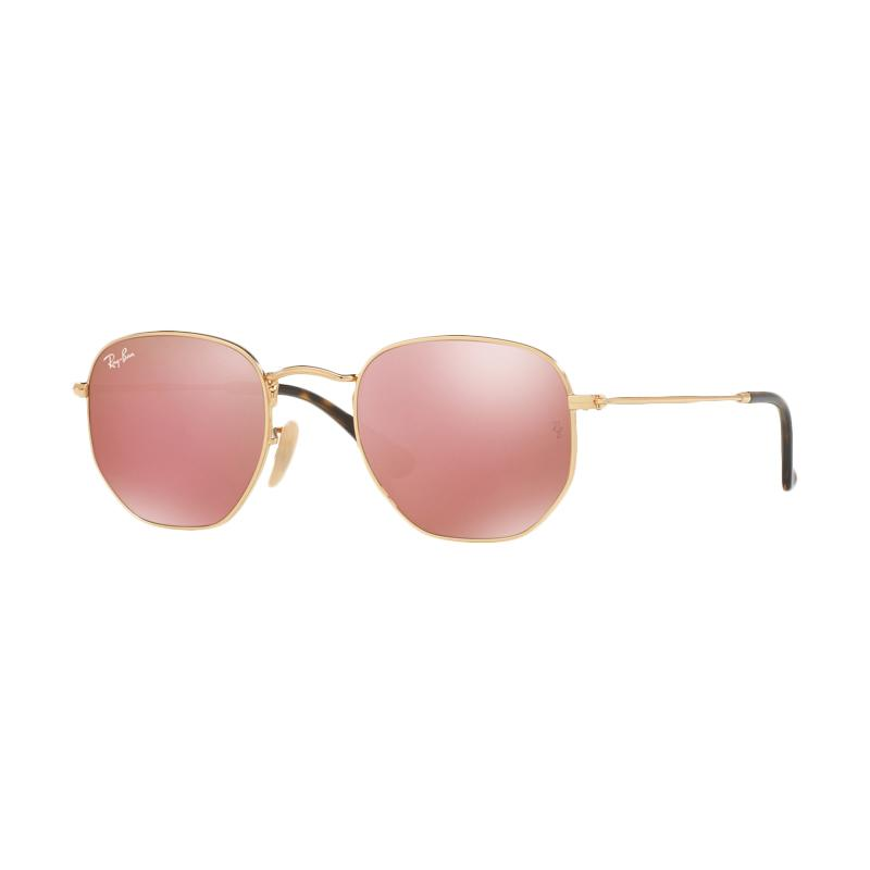 Ray-Ban RB3548NF-001-Z2 Sunglasses - Gold Copper Flash [Size 54]
