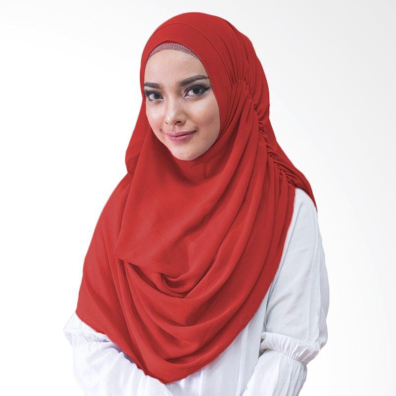Milyarda Hijab Nurmala Kerudung Instan - Merah