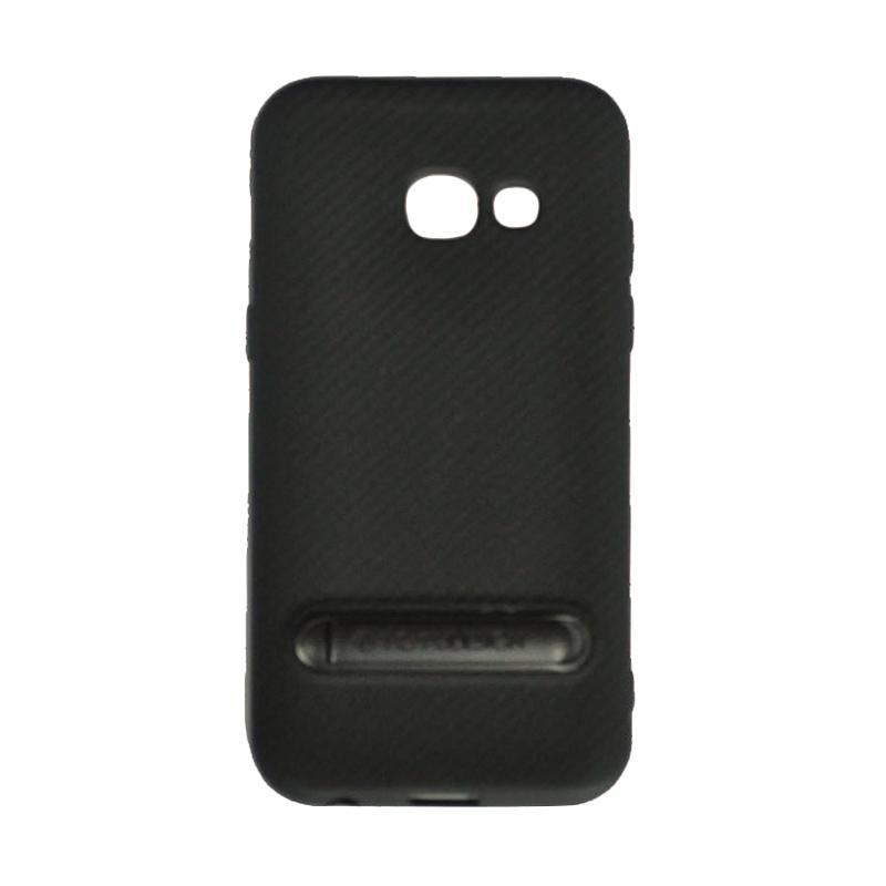Totu Slim Series Casing for Samsung Galaxy A3 2017 - Black