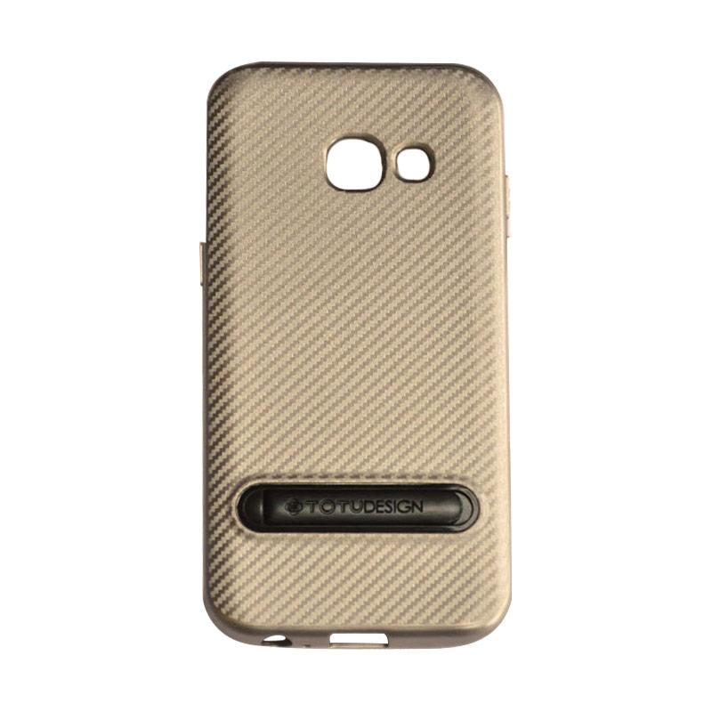 Totu Slim Series Casing for Samsung Galaxy A3 2017 - Gold
