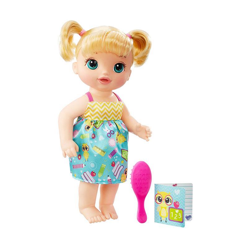 harga Baby Alive B7223 Ready for School Blonde Doll Boneka Bayi Blibli.com