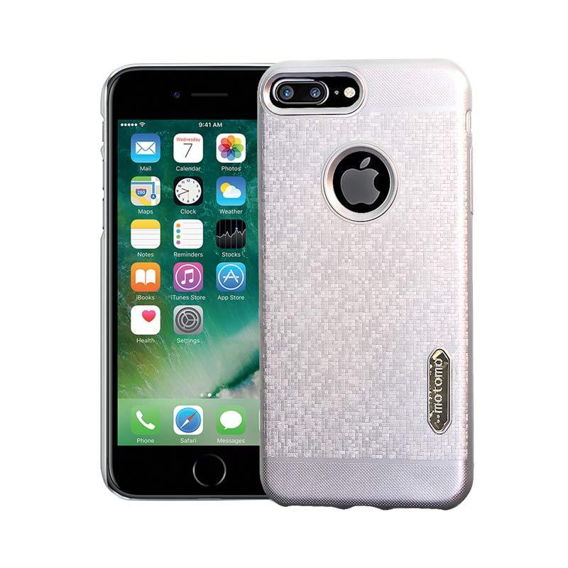 Motomo Softcase Casing for iPhone 7 Plus - Silver