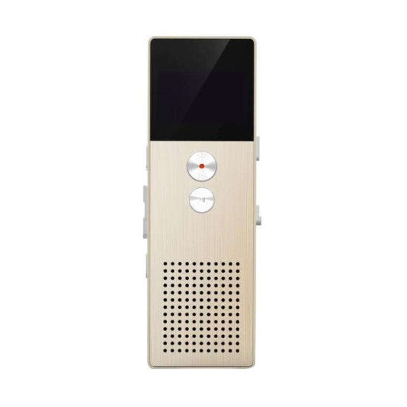 Remax RP1 Digital Meeting Voice Recorder Perekam Suara - Gold