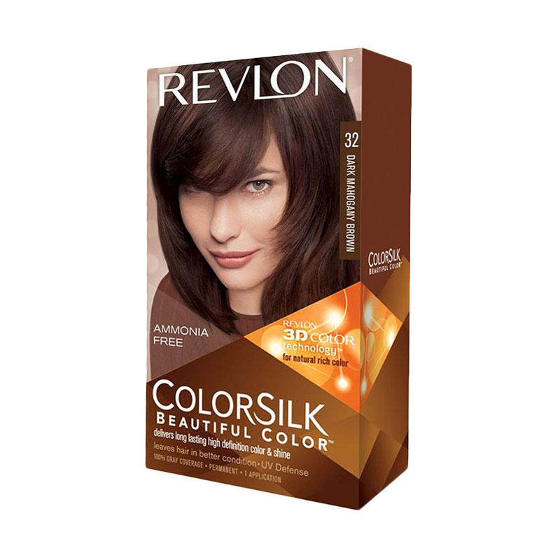 Revlon Color Silk Hair Color - Dark Mahogany Brown