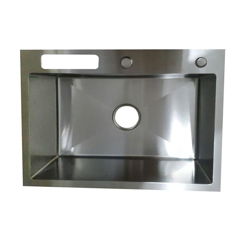 Bolzano 6045 Stainless Steel Bak Cuci Piring - Silver