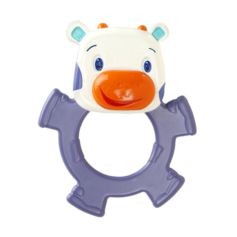 Brightstarts Dancing Teether Friends Cow Mainan Bayi