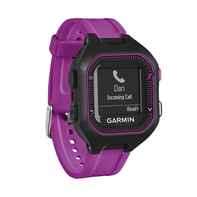 Garmin Forerunner 25 Activity Tracker - Black Purple