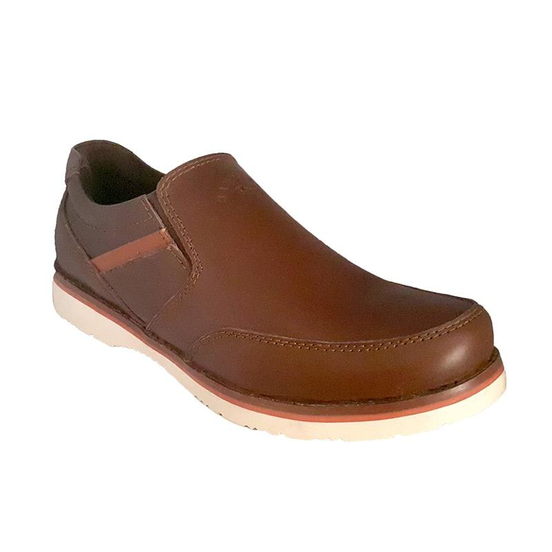 Handymen Formal Loafer CHS 015 Sepatu Pria - Brown