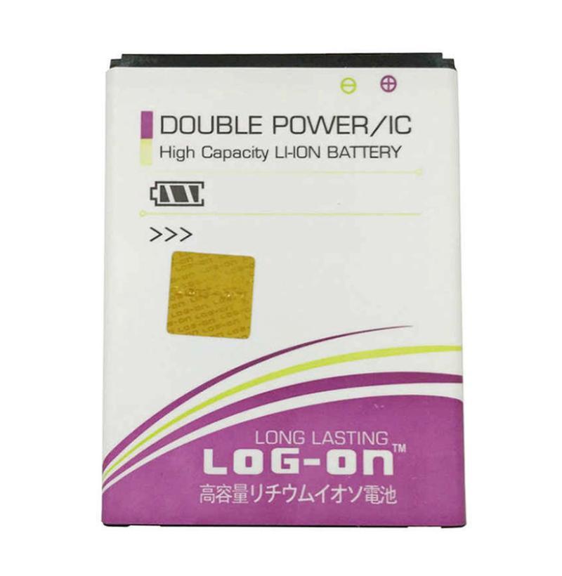 Log On Double Power Battery for Smartfren Andromax i3S [2800 mAh]