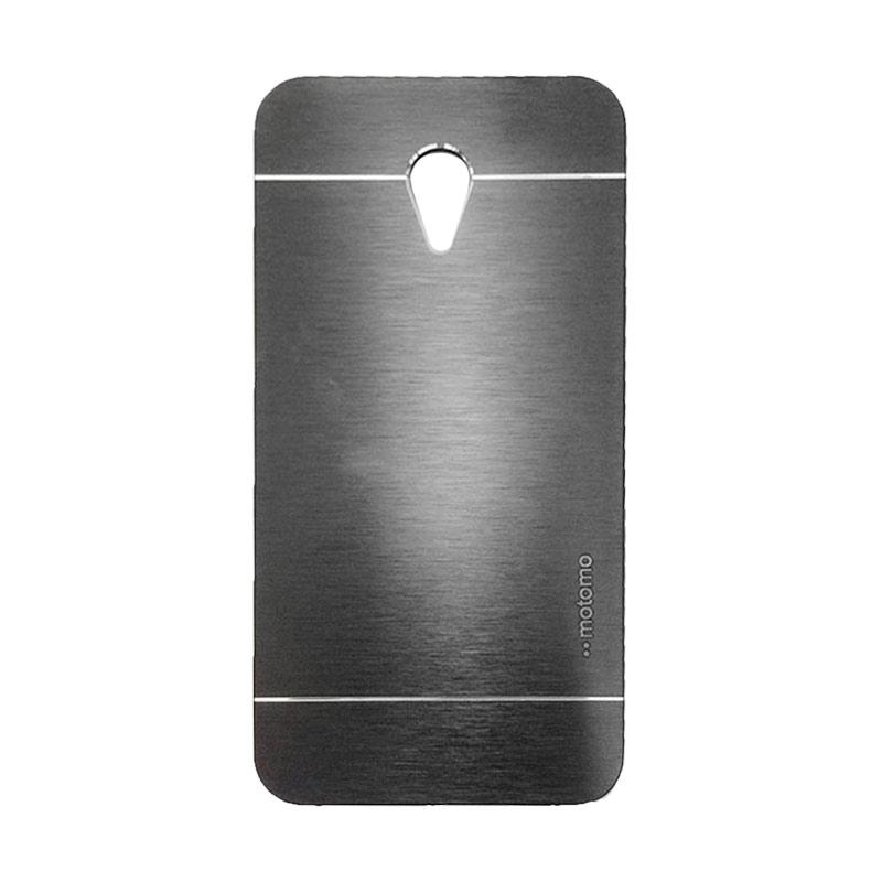 Motomo Metal Hardcase Casing for Meizu M2 Note - Black