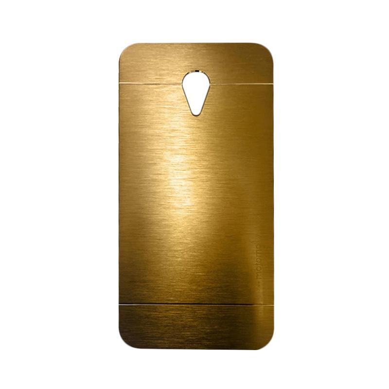 Motomo Metal Hardcase Casing for Meizu M2 Note - Gold
