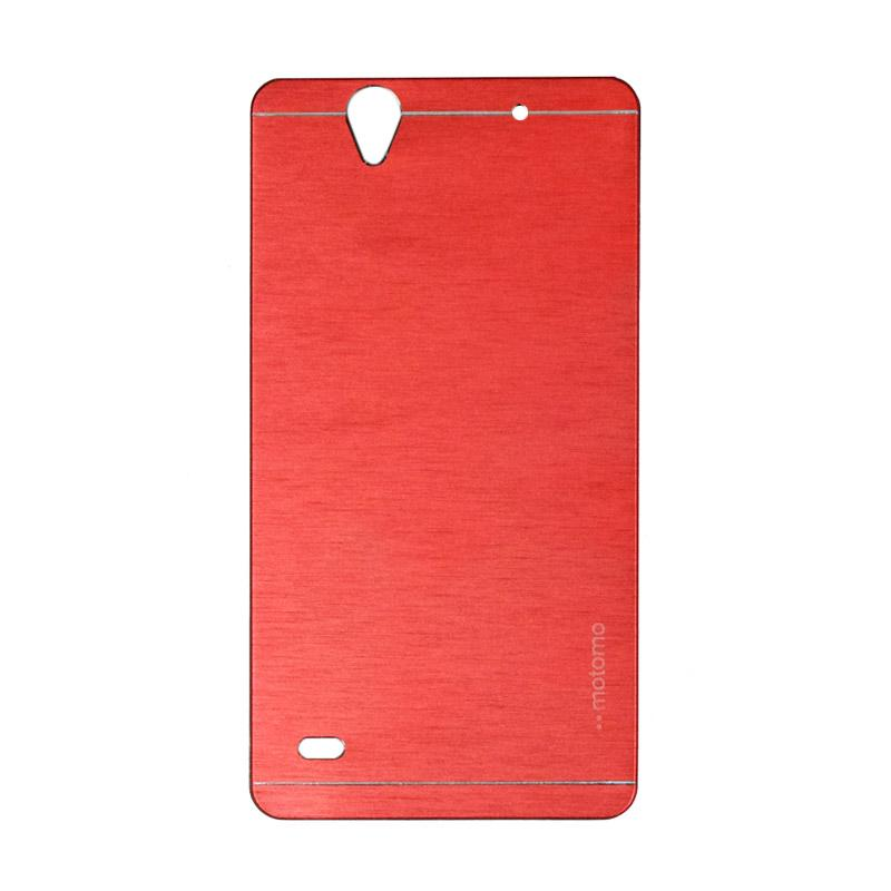 Motomo Metal Hardcase Casing for Sony Xperia C4 - Red