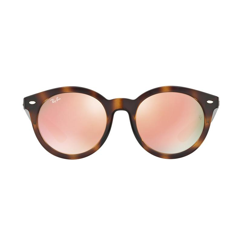 Ray-Ban 710-2Y RB4261D Copper Flash Sunglasses - Havana [Size 55]