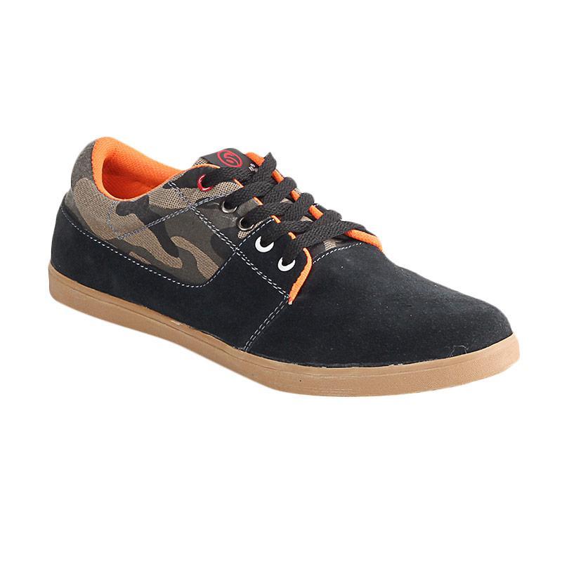 Blackkelly LDN 242 Paladin Sepatu Kulit Casual Pria - Black Brown