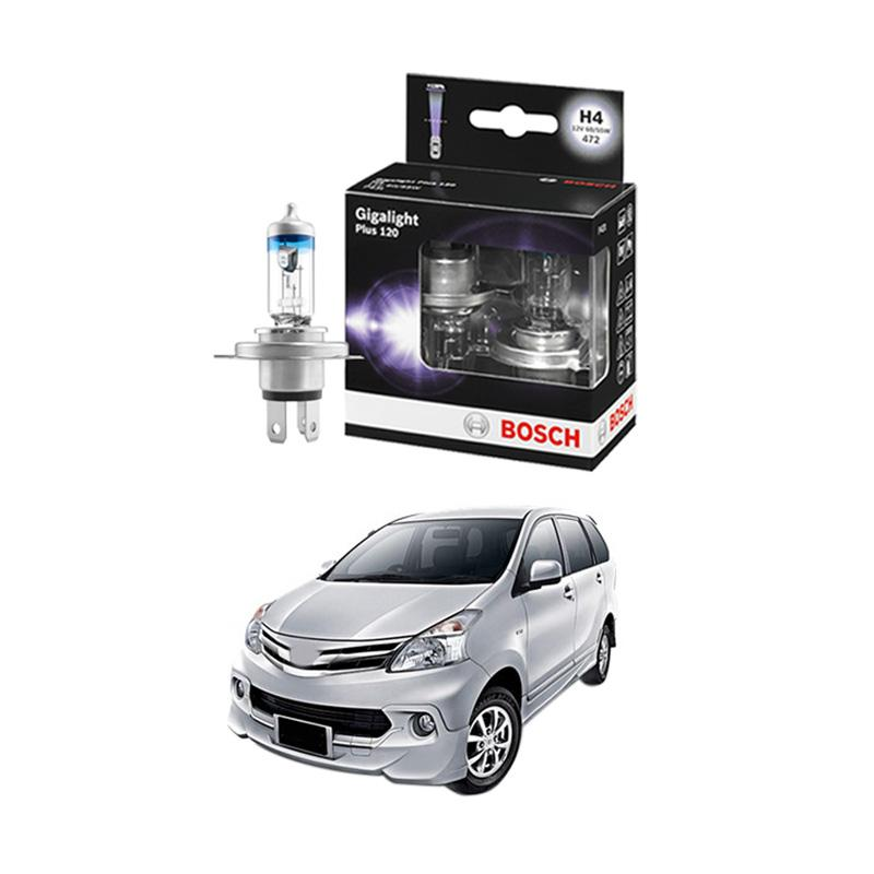 Bosch H4 Gigalight Bohlam Lampu For New Avanza 1.5 2011 Ke Atas [1987301106]
