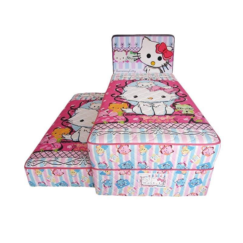 harga FCENTER Big Dream 2in1 Sorong Charmy Kitty Set Springbed  [Full Set] Pulau Jawa*) Blibli.com