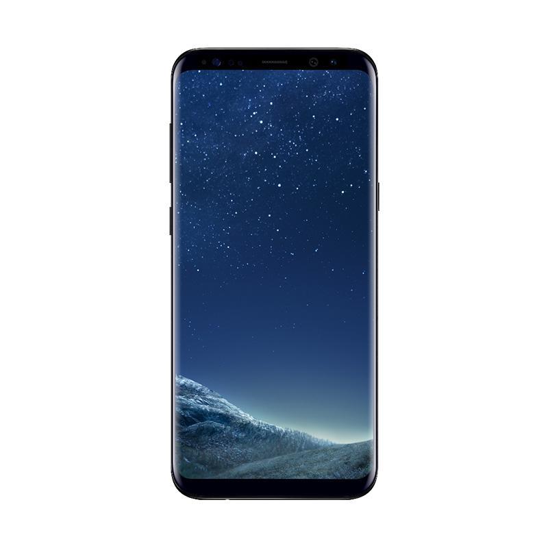 Akhirnya Punya Samsung - Samsung Galaxy S8 Smartphone - Midnight Black [64GB/ 4GB]