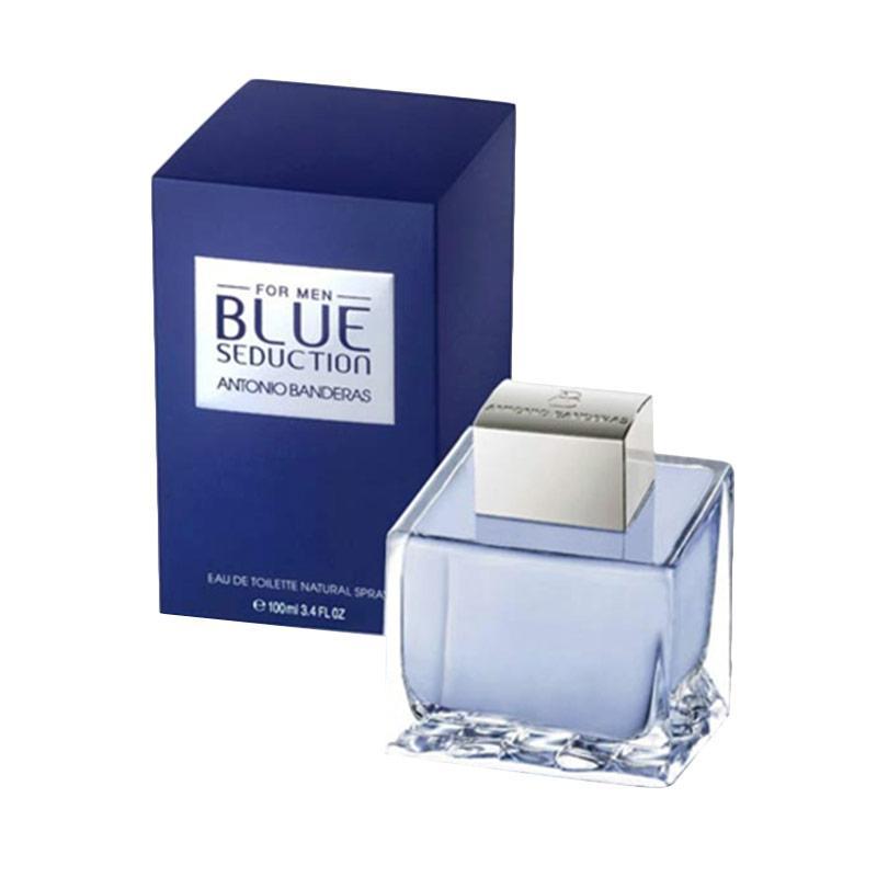 Antonio Banderas Blue Seduction EDT Parfum Pria [100 mL] Ori Tester Non Box