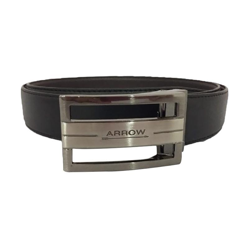 Arrow Leather Belt BP-AR2124FHA-B35-4127F Ikat Pinggang Pria - Black
