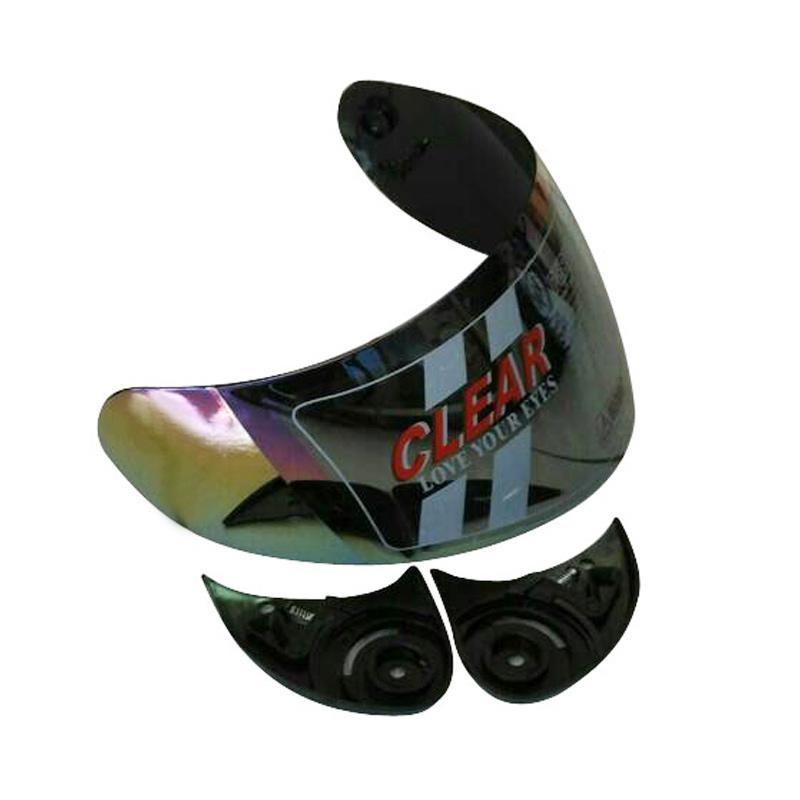 harga CLEAR Visor Kaca Helm for BMC Star dan Blade Visor - Pelangi Blibli.com