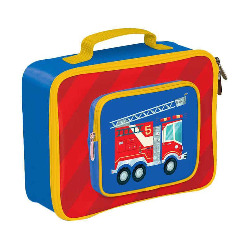 Crocodile Creek Lunch Box Fire Truck - Red Blue
