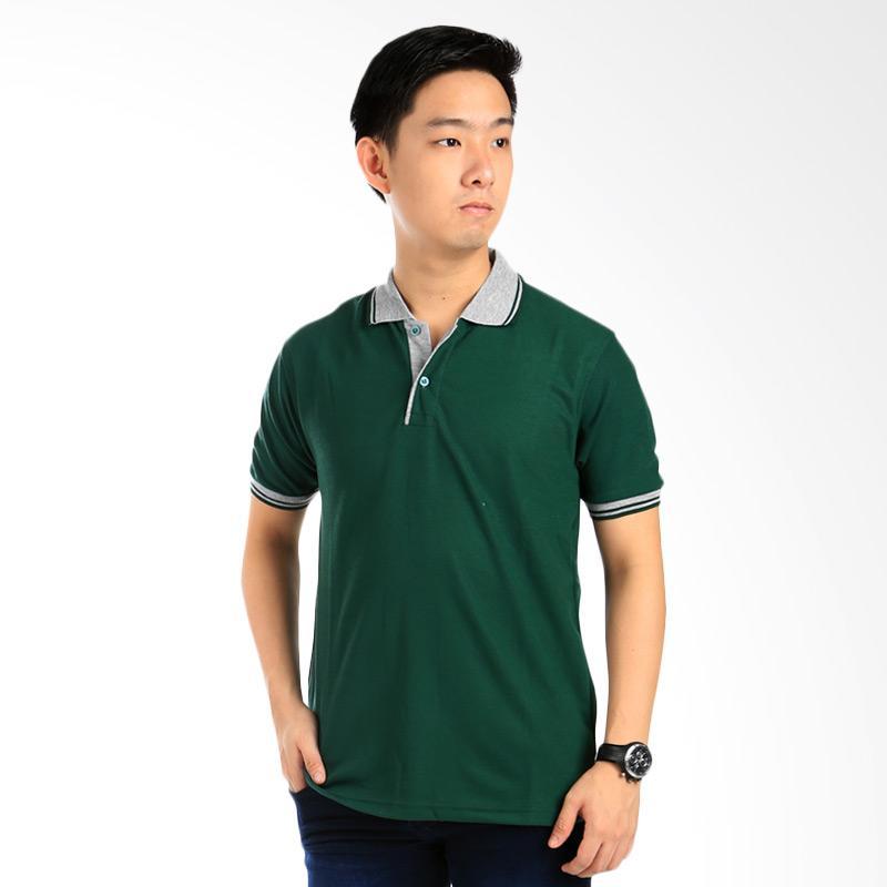 Elfs Shop Polo Neck Shirt Pria - Abu Muda Hijau Tua Extra diskon 7% setiap hari Extra diskon 5% setiap hari Citibank – lebih hemat 10%