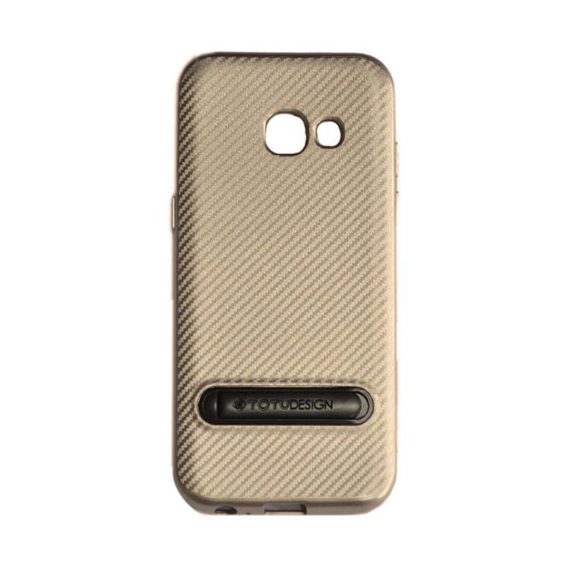Totu Slim Series Casing for Samsung Galaxy A7 2017 - Gold