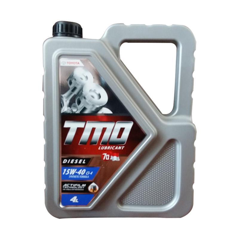 Jual Toyota Tmo Diesel 15w 40 Oli Mesin 4 Liter Online Februari 2021 Blibli