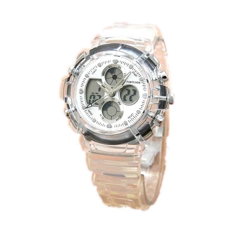Fortuner FR J-540AD Jam Tangan Wanita - Transparent