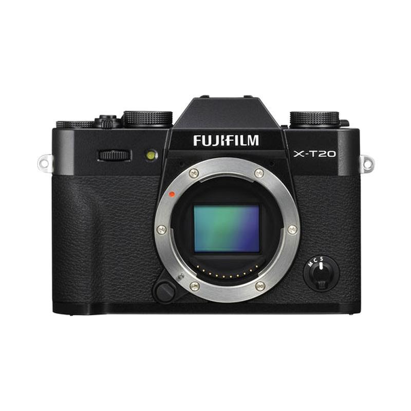 Fujifilm X-T20 Body Only Kamera Mirrorless - Hitam - 9308951 , 16024338 , 337_16024338 , 12999000 , Fujifilm-X-T20-Body-Only-Kamera-Mirrorless-Hitam-337_16024338 , blibli.com , Fujifilm X-T20 Body Only Kamera Mirrorless - Hitam