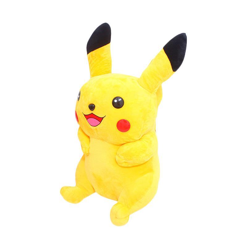 Istana Kado Pokemon Series Pikachu Boneka [Size L]