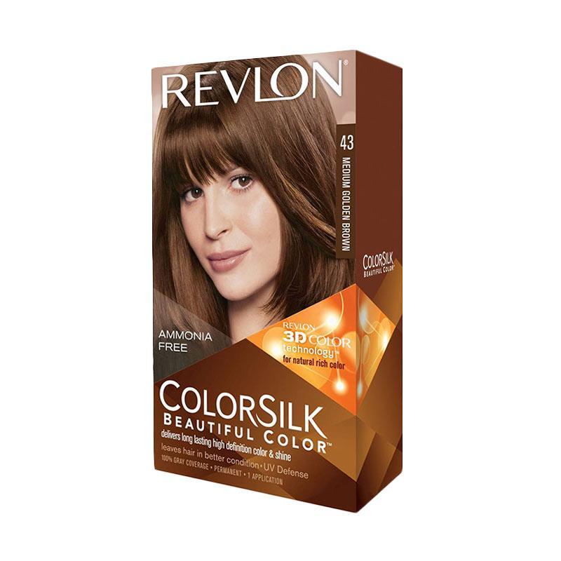 Revlon ColorSilk Hair Color - Medium Golden Brown