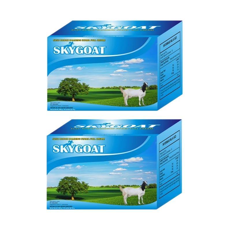 Sky Goat Susu Kambing Etawa Bubuk Full Cream Minuman Kesehatan [2 box]